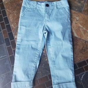 Oshkosh B'Gosh Boys Powder Blue Skinny Pants.